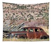 Rusty Chevrolet Special Deluxe In Manila Utah Tapestry