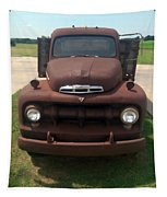 Rusty Ford Truck Tapestry