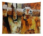 Rusty Gate Tapestry