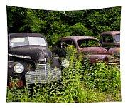 Rusty Old Transportation Tapestry