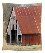 Rusty Ole Barn Tapestry