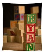 Ryan - Alphabet Blocks Tapestry