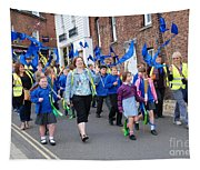 Rye Olympic Torch Parade Tapestry