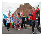 Rye Olympic Torch Relay Parade Tapestry