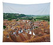 Rye Town Roofs Tapestry