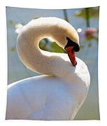 S Is For Swan Tapestry