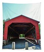 Sachs Covered Bridge 3 Tapestry