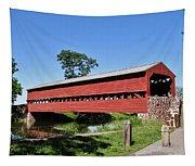 Sachs Covered Bridge Tapestry