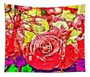Sacred Roses Tapestry
