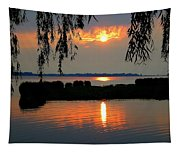 Sadness At Days End Tapestry
