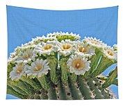 Saguaro Flowers On Top Tapestry