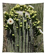 Saguaro In Bloom Tapestry