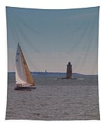 Sail On The Tide Tapestry