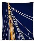 Sailboat Lines Tapestry