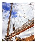 Sailboat Rigging Tapestry