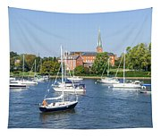 Sailboats By Charles Carroll House Tapestry
