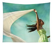 Sailing A Favorable Wind Tapestry