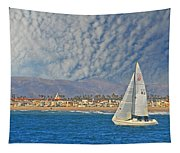 Sailing The Blues Away  Tapestry