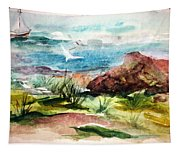 Sailing Towards Anywhere Tapestry