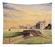 Saint Andrews Golf Course Scotland - 18th Hole Tapestry
