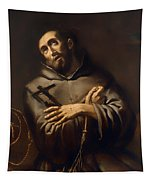 Saint Francis Of Assisi Tapestry