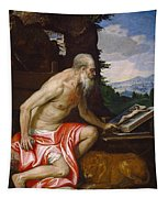 Saint Jerome In The Wilderness Tapestry