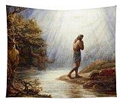 Saint John The Baptist Tapestry