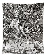 Saint Michael And The Dragon Tapestry