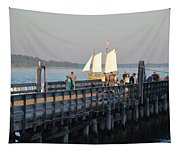 Salem Willows Sailboat Tapestry