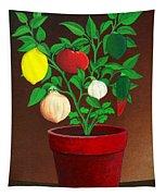 Salsa Plant Tapestry