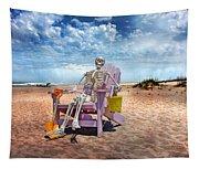 Sam Discovers Bald Head Island Tapestry