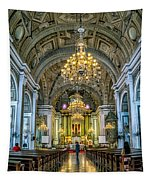 San Agustin Church  Tapestry