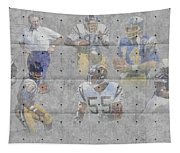 San Diego Chargers Legends Tapestry