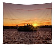 San Diego Sunset Tapestry