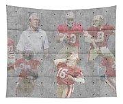 San Francisco 49ers Legends Tapestry