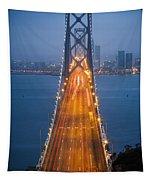 San Francisco - Oakland Bay Bridge Tapestry