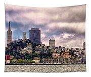 San Francisco Skyline Tapestry