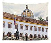 San Pedro Claver Monastery Tapestry