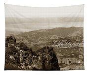 San Rafael From Mount Tamalpais California Circa 1905 Photo By Putnam- Valentine Tapestry