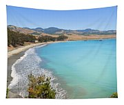 San Simeon Bay Tapestry