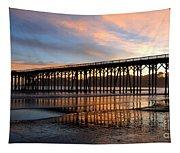 San Simeon Pier Tapestry