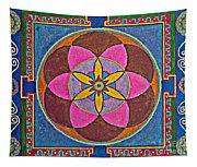 Sand Mandala Tapestry
