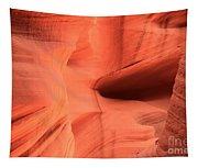 Sandstone  Ledges And Swirls Tapestry