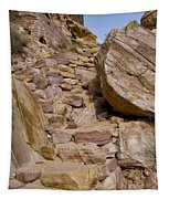 Sandstone Steps Tapestry