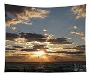 Sanibel Sunset Tapestry