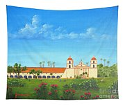 Santa Barbara Mission Tapestry