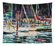 Santa Cruz Dock Tapestry