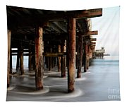 Santa Cruz Pier California Tapestry