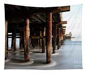 Santa Cruz Pier California Tapestry
