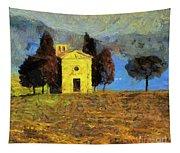 Santa Maria Di Vitaleta Tapestry